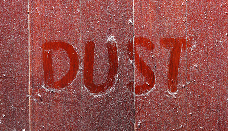 Reduced dust emission during loading operation